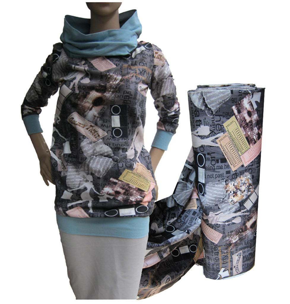 hoodie-kleid