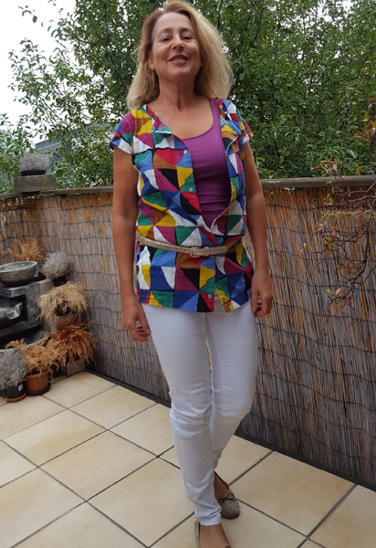 bluse offen